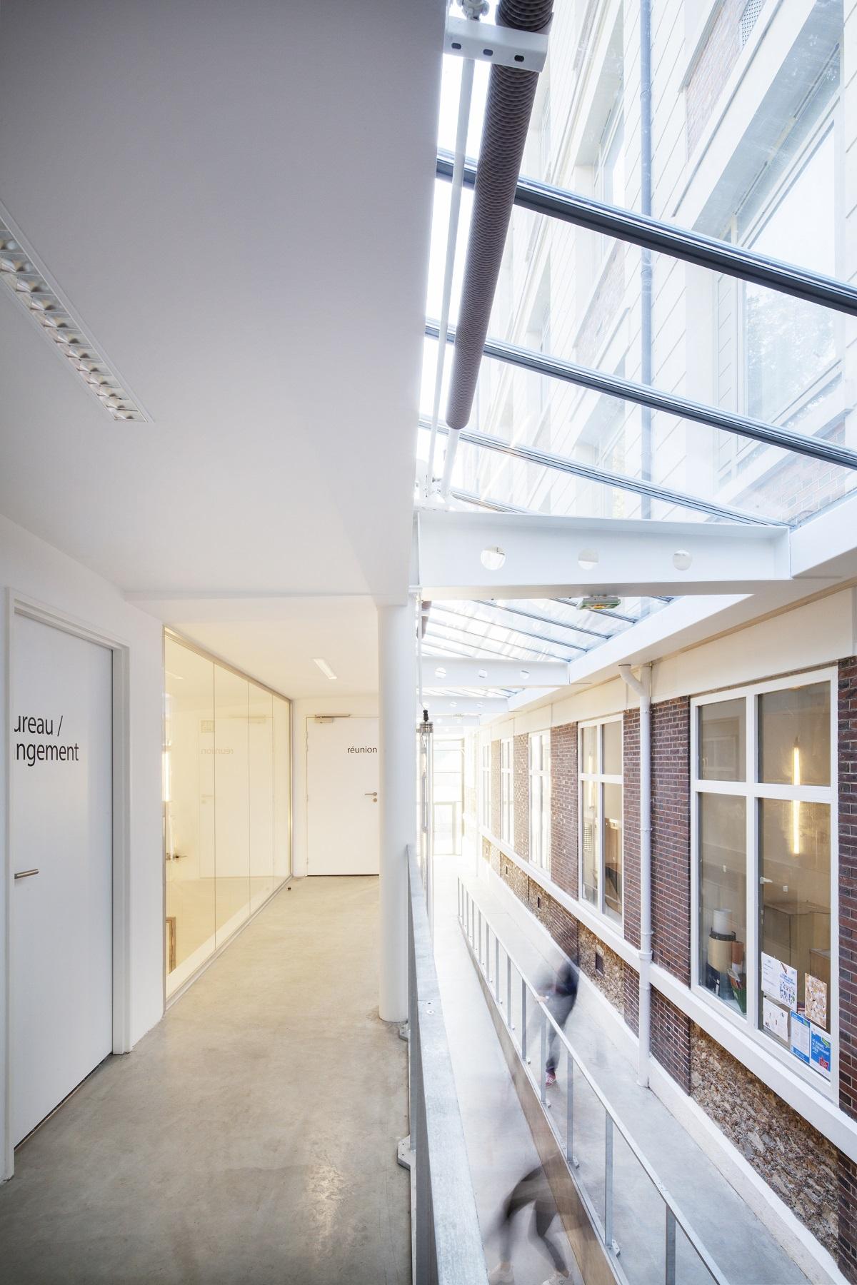 étage lycée la Bruyère