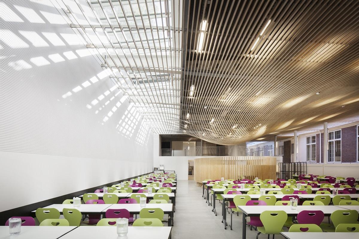 Intérieur demi pension Lycée la Bruyère
